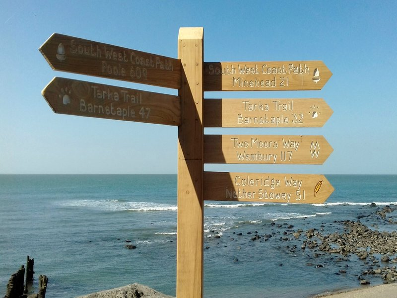 Walking Routes from Lynmouth